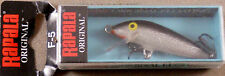 Trout Fishing Lure, Rapala Original Floating Minnow, F-5 S Balsa Wood Crankbait