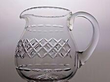TUDOR CRYSTAL SEYMOUR CUT GLASS WATER JUICE JUG WINE PITCHER