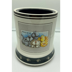 Electric Jar Candle Warmer w/Cats