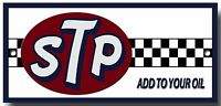 STP ADD TO YOUR OIL ENAMELLED METAL SIGN.200MM X 95MM PREMIUM QUALITY SIGN.