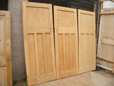 Reclaimed 1930s 1 over 3 panel doors. Stripped and sanded  (15 available)