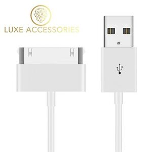 30 Pin to USB Charging Data Sync Charger Cable Lead for Apple iPhone iPad iPod