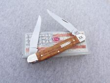 Case Xx * Sfo 2018 Gold Curly Wood Muskrat Knife Knives New Item