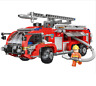 Xingbao Building Blocks  Gifts Airport Fire Truck  Assembling Car Model Kid DIY