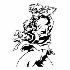 Street Fighter Roy Decal Sticker for Macbook Laptop Car Window Wall Decor Helmet