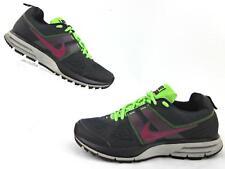 Nike Air Pegasus+ 29 Trail Running Shoes Anthracite Bordeaux Electric Green US 8