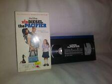 Walt Disney Vin Diesel The Pacifier VHS
