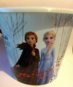 Disney Frozen 2 Elsa Halloween Candy Pail Easter Jumbo Basket Party Bucket