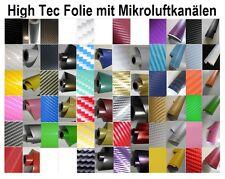 Auto Folie Carbon (ab 3,29?/m²) Car Wrap Luftkanäle für blasenfreies Verkleben