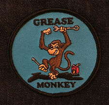 Grease Monkey Patch / Motorcycle Auto Car Mechanics