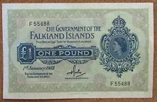 More details for falkland islands 1st january 1982 £1 and 20th february 1974 50 pence