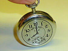 VINTAGE pocket watch Petrol Lighter-Briquet Essence-Accendino in forma orologi