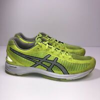 ASICS GEL-Ds Trainer 23  Casual Running Stability Shoes Neon Mens Size 9.5