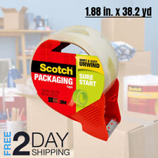 Strong Scotch Packaging Tape with Dispenser For Moving Packing Shipping