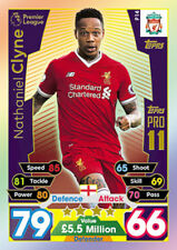 Match Attax 2017/18 17/18 Pro 11 LIMITED EDITION LE and 100 Hundred CLUB Cards