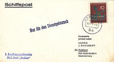 MzL - Boot Rochen  schöner Beleg 1968