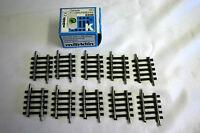 Marklin 2208 HO K Track Straight 35.1 mm (Set of 10)