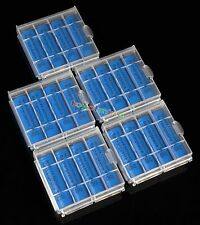 5 Case + 20 AA Ni-MH 3000mAh rechargeable battery Blue 1.2V