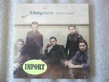 CD-BOYZONE-ALL THAT I NEED-Never easy-paradise-workin'-(CD SINGLE)-1997-5 TRACK