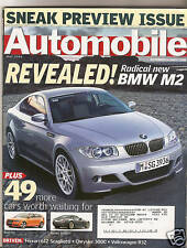 Automobile Mag - May 2004 - Radical New BMW M2