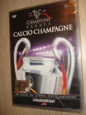 DVD N° 6 CHAMPIONS OF EUROPE CALCIO CHAMPAGNE GAZZETTA 1987 1992
