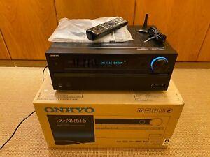 Onkyo TX-NR616 A/V 7.2 Heimkino-Receiver, Top Zustand, schwarz, OVP