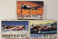 AVIATION : HAYATE TYPE A, SHIDEN-KAI, ZERO-SEN TYPE 32 1/144 SCALE MODEL KITS