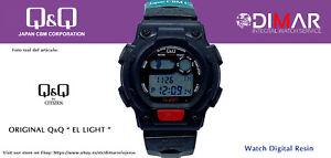 Vintage Watch Q&Q The Light. 9912, Wr 5m. Lap Memory 10. (M111 001)