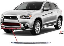 FOR MITSUBISHI OUTLANDER 09-12 NEW FRONT BUMPER LOWER CENTER CHROME MOLDING
