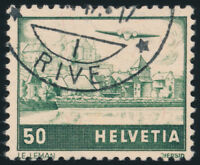 SCHWEIZ 1941, MiNr. 389 I, sauber gestempelt, Mi. 70,-
