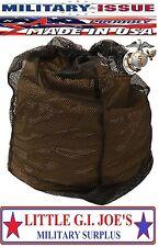 10 NEW USMC Mesh Storage Bag  MSS Propper 3 Season Sleep System Mesh Storage Bag