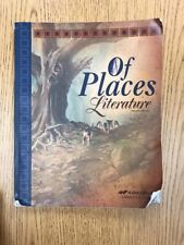 A Beka 8th grade Of Places Literature Used Student textbook ABeka Language