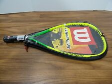 Wilson Ripper Titanium Long String Racquetball Racquet with Cover Brand New