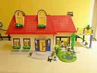 Playmobil 3965 Einfamilienhaus mit Einrichtung und Zubehör Haus Puppenhaus