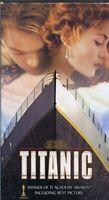 Titanic (1997) VINTAGE VHS Cassette Box Set Leonardo Dicaprio Kate Winslet
