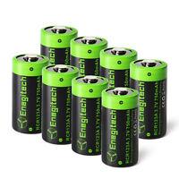 3.7V RCR123A  750mAh/pcs Rechargeable Lithium Battery for Arlo Camera US lot