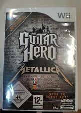 Guitar Hero Metallica - Nintendo Wii - neuf sous blister