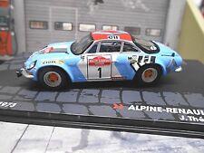 RENAULT Alpine A110 1800 Rallye San Remo #1 Therier Winner 1973 IXO Alta SP 1:43