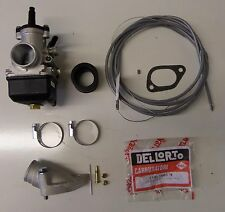LAMBRETTA CARB KIT DELLORTO PHBL 25MM JETTED NEW !