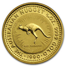 1990 Australia 1/20 oz Gold Nugget - SKU #64567