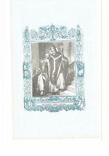 1852 Grabado San Fulgencio Obispo y Confesor