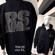 """DTA / ROGUE STATUS """"reflective"""" black zip up hoodies"""