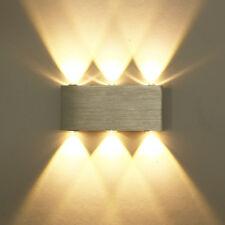 6W LED Wandleuchte Effektlampe Wandlampe Wandlicht Flurleuchte Innenleuchte warm