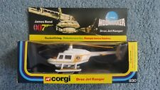 CORGI #930 DRAX JET RANGER James Bond 007 Moonraker BOXED