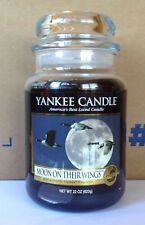 YANKEE CANDLE MOON ON THEIR WINGS 22 OZ JAR MY FAVORITE THINGS FIRST US RELEASE