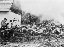 German soldiers defending against French troops - 8x10 World War I Photo WWI