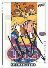 ✺Signed✺ 2002 BRISBANE LIONS AFL Premiers Card ALASTAIR LYNCH