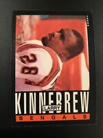 1985 Topps # 218 LARRY KINNEBREW Cincinnati Bengals Qty Avail