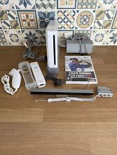 Nintendo Wii Console Bundle With 1 Game Fully Tested And Antibacterial Cleaned