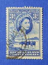 1955 BECHUANALAND PROTECTORATE 3d SCOTT# 157 S.G.# 146 USED              CS20560